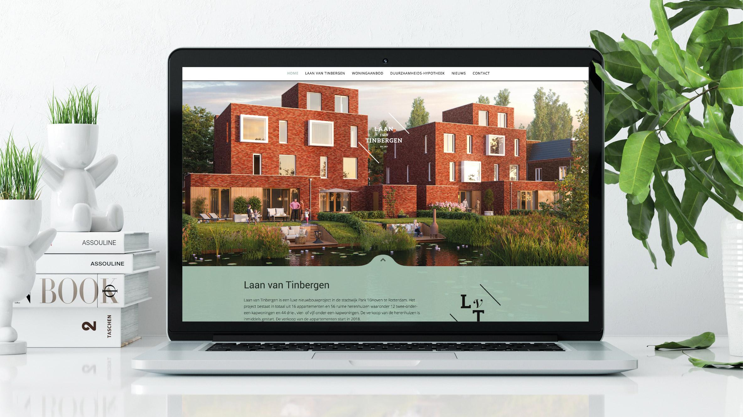 Laan van Tinbergen website ontwikkeld voor AM