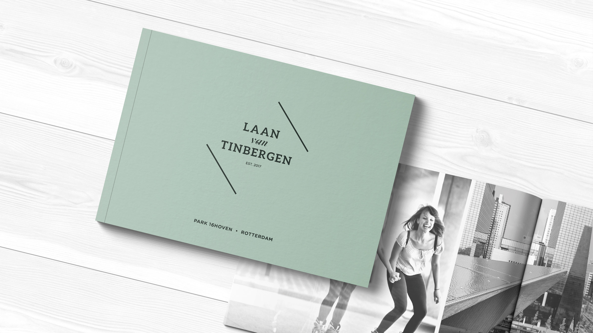 Laan van Tinbergen brochure ontwikkeld voor AM